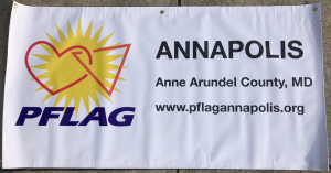 PFLAG Annapolis/Anne Arundel County Banner